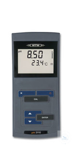 pH 3110 Easy-to-operate, robust pH/mV-meter with large LCD-Display, for...