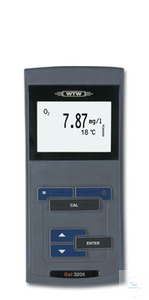 Oxi 3205 Basic portable DO meter Easy-to-use, robust DO meter with backlit...