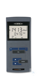 Cond 3110 Easy-to-operate, robust conductivity meter with large LCD-display,...