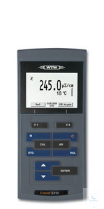 Cond 3310 Mobile conductivity meter including data logger Professional, field...