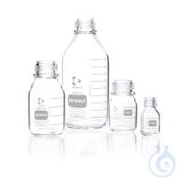 DURAN® protect, Laborflasche, kunststoff- ummantelt, GL 45, ohne...