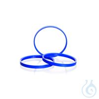 Ausgiessring, GLS 80, PP, blau, für DURAN® Laborglasflaschen