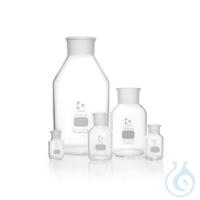 DURAN® Weithals-Standflasche, mit NS 85/55, klar, ohne Stopfen, 10000 ml