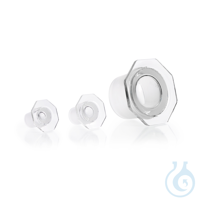 DURAN® Glass Stopper, clear, with standard ground joint, octagonal DURAN® Glass Stopper, clear,...