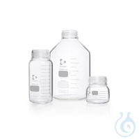 DURAN® GLS 80 Laborglasflasche, weithals, klar, ohne Schraubverschluss und Ausgießring, 5000 ml