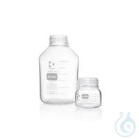 Frasco para laboratorio DURAN® PROTECT GLS 80, con rosca GLS 80, provisto de...