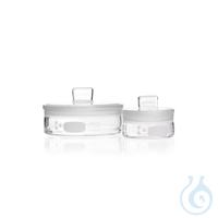 DURAN® Wägeglas, mit Deckel, niedrige Form 28 x 25 mm, 5 ml