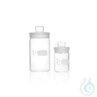 DURAN® Wägeglas, mit Deckel, hohe Form, 44 x 80 mm, 70 ml