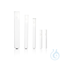 DURAN® Test Tube, with beaded rim or straight rim DURAN® Test Tube, beaded rim, 4 mL, 10 x 75 mm...