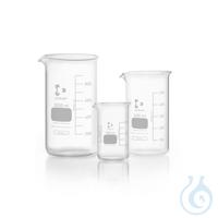 DURAN® Becher, hohe Form, mit Teilung und Ausguss, 400 ml