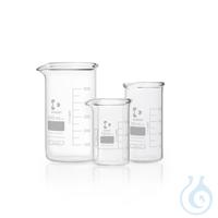 DURAN® super duty Becher, hohe Form, mit Teilung und Ausguss, 600 ml