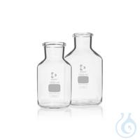DURAN® Weithals-Standflasche, ungeschliffen, klar, 20000 ml