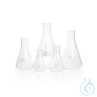 DURAN® Erlenmeyer Flask, narrow neck, 200 mL Features and Benefits: Complies with DIN ISO...