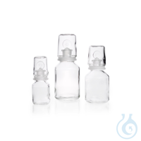 DURAN® Glass Over Cap, clear, for Acid Storage Bottles DURAN® Glass Over Cap, clear, for Acid...
