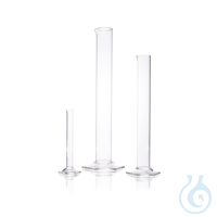 DURAN® Measuring Cylinder, tall form, without graduation, for DIN EN ISO 4788, with spout and...