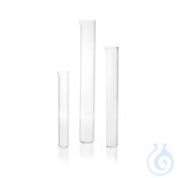 DURAN® Measuring Cylinder, tall form, without base and graduation, with spout DURAN® Measuring...