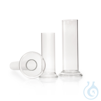DURAN® Mehrzweckzylinder, geschliffen, runder Fuß, 50 x 500 mm, 770 ml
