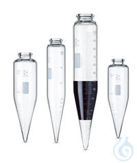 DURAN® Oil Centrifuge Tubes, conical, short and long cone DURAN® Oil Centrifuge Tubes, conical,...