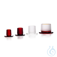 DURAN® Glass Stopper, amber, with standard ground joint, octagonal DURAN® Glass Stopper, amber,...