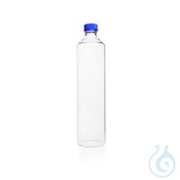 DURAN® Rollerflasche für Zellkulturen, GL 45, kompl. mit Kappe und Ausgießring (PP), blau, 110 x...