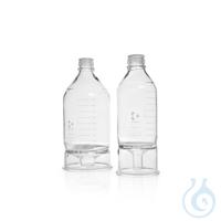 4Artículos como: HPLC depósito frasco de fondo cónico DURAN®, GL 45, 1000 ml HPLC depósito...