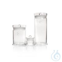 DURAN® Specimen Jar, with ground, knobbed lid DURAN® Specimen Jar, with knobbed lid, Ø 115 x 203...
