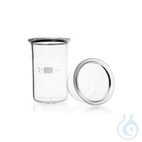 DURAN® Flat Flange Beaker, flange with groove DURAN® Flat Flange Beaker, DN 150, 1000 mL Features...