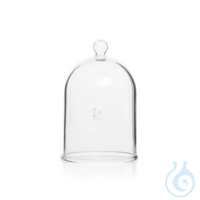 DURAN® Bell Jar, with glass knob top, Ø 185 mm Features and Benefits: The button makes it easy to...