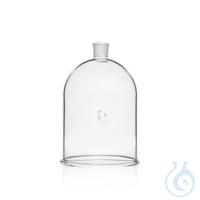 DURAN® Bell Jar, with aperture in neck DURAN® Bell Jar, with aperture in Neck, NS 34/35, Ø 315 mm...