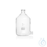 DURAN® Stutzenflaschen (Abklärflasche), Bodentubus mit NS, ohne Stopfen, 500 ml