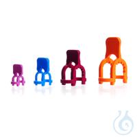 KECK-Kugelschliffklammern, POM, S 35, orange, KECK-ART.-NR. 05-35