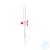 3Artikelen als: DURAN® scheitrechterkranen volgens Gilson, compleet met PTFE-plug, boring 2...