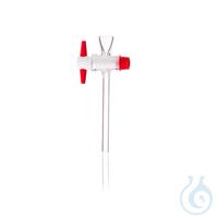 4Artikelen als: DURAN® scheitrechterkranen met korte trechtervormige aanzet, compleet met...