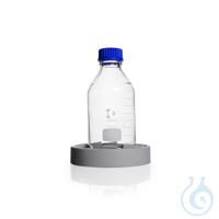 Soporte para frascos de silicona, gris, para todos los frascos redondos y...