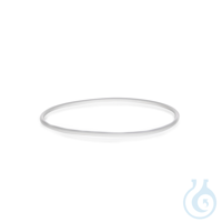 O-Ring, transparant, uit siliconen (VMQ), passend voor flens DN 60, 75 x 4 mm