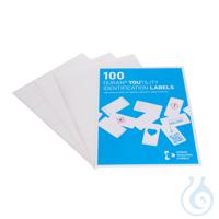 Un pack contiene: 100 DURAN YOUTILITY etiquetas de botellas autoadhesivas (36...