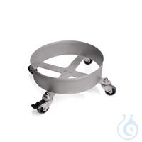 DURAN® Carro de metal con ruedas para botella GL 45 de 20 litros (Acero...