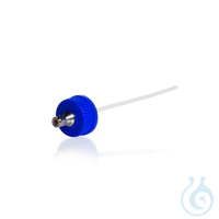 Tapa rosca GL45 de PP con soporte de acero inoxidable/ silicona y Teflon para...