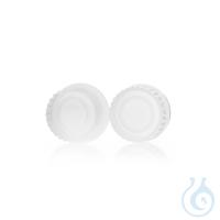 DURAN PURE Schraubverschluss GL 45, PFA, mit Lippendichtung, Temperaturbe-...