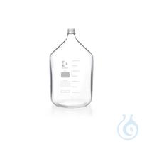 DURAN® Frasco para Producción, GL 45, transparente, pared gruesa, sin tapa ni...