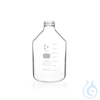 DURAN® Frasco para Producción, cuello ancho GLS 80, transparente, pared...