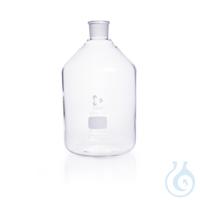 DURAN® Enghals-Standflasche, NS 45/40, klar, ohne Stopfen, 5000 ml