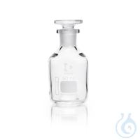 DURAN® Enghals-Standflasche, NS 14/15, klar, mit Stopfen, 50 ml