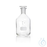 DURAN® Enghals-Standflasche, NS 19/26, klar, mit Stopfen, 250 ml