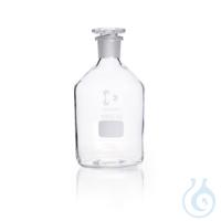 DURAN® Enghals-Standflasche, NS 29/32, klar, mit Stopfen, 1000 ml