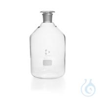 DURAN® Enghals-Standflasche, NS 45/40, klar, mit Stopfen, 5000 ml