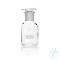 DURAN® Weithals-Standflasche, mit NS 34/35, klar, mit Stopfen, 250 ml