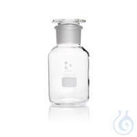 DURAN® Weithals-Standflasche, mit NS 60/46, klar, mit Stopfen, 1000 ml