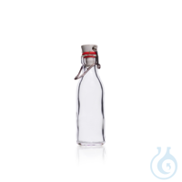 DURAN® Rolled Flange Bottle with clamp closure DURAN® Rolled Flange Bottle, with clamp closure,...