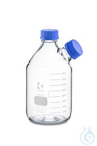 Botella DURAN® GL45 2000ml con cuello lateral roscado GL 45 Botella DURAN®...